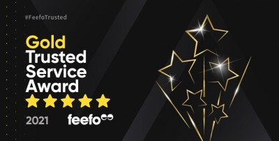 Living in London receives Feefo Gold Trusted Service Award 2021